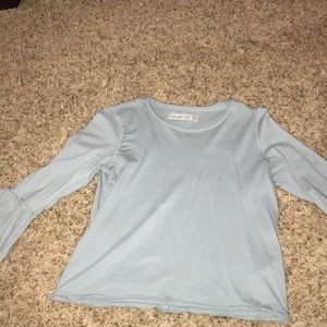 Abercrombie & Fitch bell sleeve top